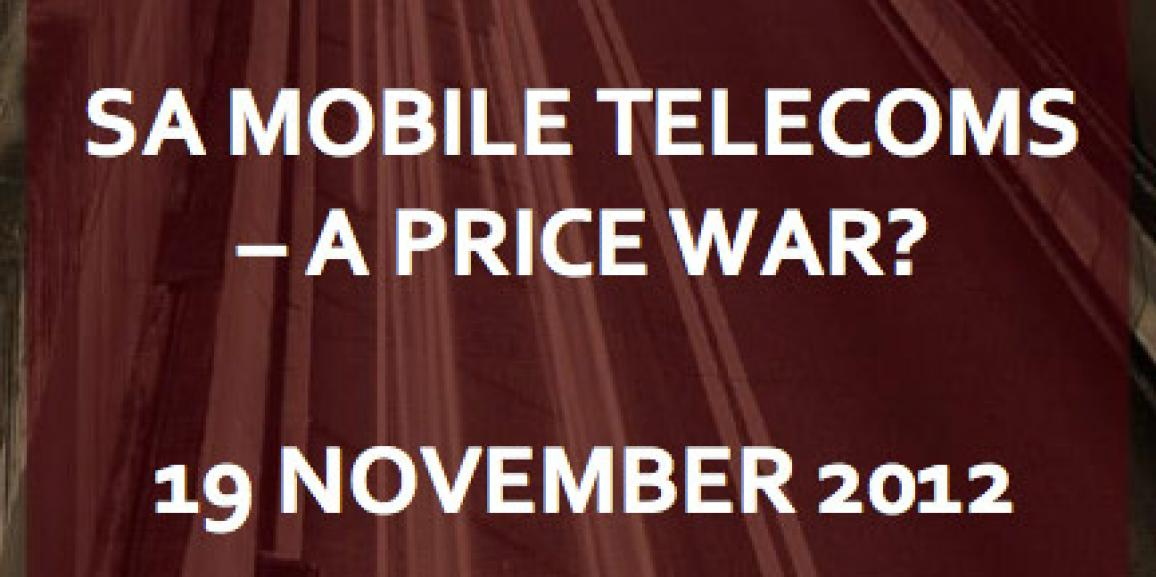 SA Mobile Telecoms – A Price War?