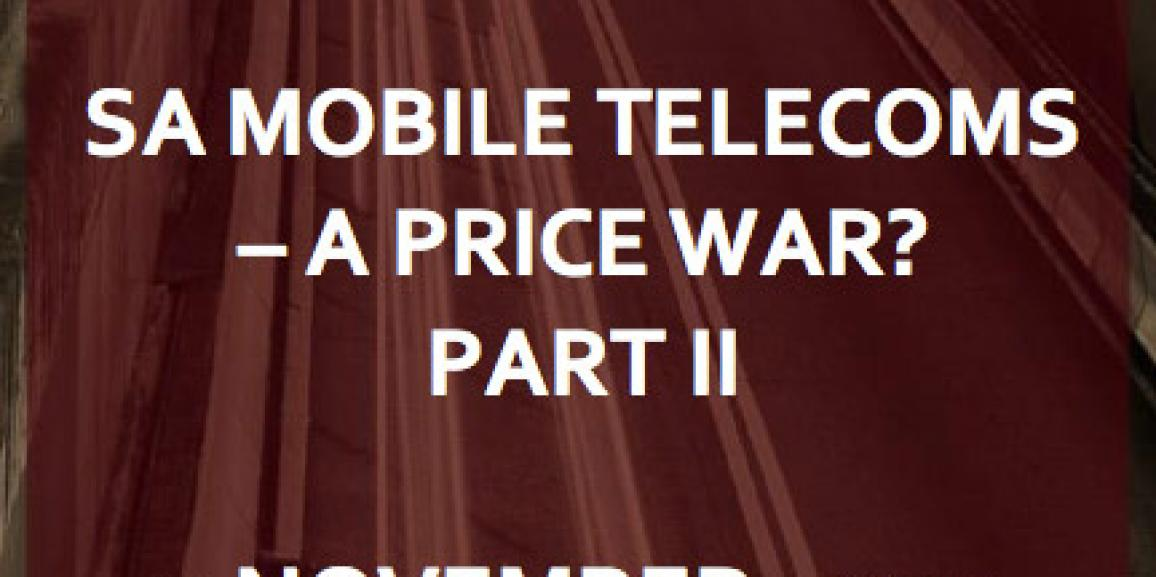 A Mobile Telecoms Perspective Part 2